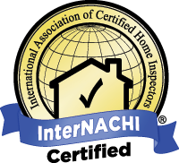 Professional home inspector certfied by InterNACHI (International Association of Home Inspectors).